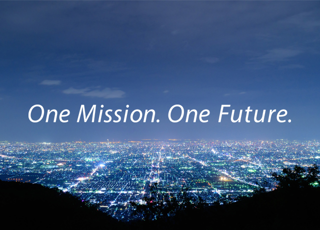 One Mission. One Future.